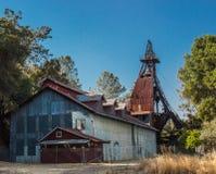 Exploitation minière historique en sierra Nevada Foothills Photo libre de droits