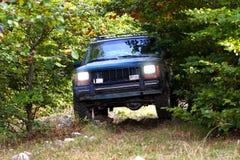 exploração 4x4 off-road Imagem de Stock