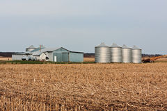 Exploração agrícola americana Fotografia de Stock