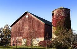 Exploração agrícola americana do país velho Fotografia de Stock Royalty Free