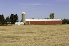 Exploração agrícola americana típica Fotos de Stock
