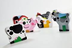 Exploração agrícola animal feliz Imagens de Stock Royalty Free