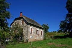 Exploração agrícola da casa fotografia de stock royalty free