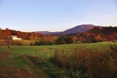 Exploração agrícola da montanha Fotografia de Stock Royalty Free