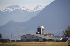 Exploração agrícola da montanha Imagens de Stock Royalty Free