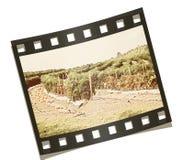 Exploração agrícola da Poeira-Bacia imagens de stock
