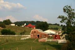 Exploração agrícola de Amish Fotos de Stock