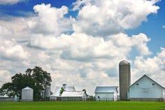 Exploração agrícola de Amish imagem de stock