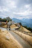 Exploração agrícola de Cingjing em Nantou Taiwan imagem de stock royalty free