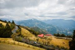 Exploração agrícola de Cingjing em Nantou Taiwan fotografia de stock royalty free