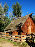 Exploração agrícola de Colorado fotografia de stock