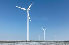 Exploração agrícola de energia Fotografia de Stock