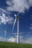 Exploração agrícola de vento Foto de Stock Royalty Free