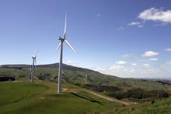 Exploração agrícola de vento Fotografia de Stock Royalty Free