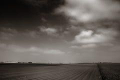 Exploração agrícola de vento Fotos de Stock Royalty Free