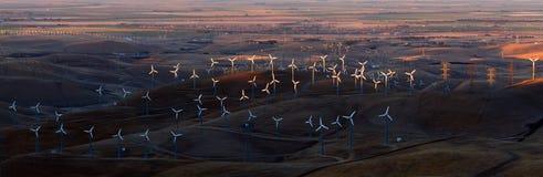 Exploração agrícola de vento Fotos de Stock