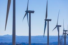Exploração agrícola de vento Imagem de Stock Royalty Free