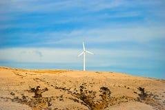 Exploração agrícola de vento Foto de Stock