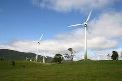 Exploração agrícola de vento Austrália do norte Imagens de Stock