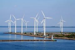 Exploração agrícola de vento de Copenhaga fotos de stock royalty free