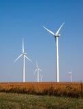 Exploração agrícola de vento em Oklahoma Imagem de Stock Royalty Free