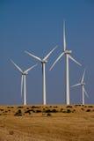 Exploração agrícola de vento em Oklahoma Fotos de Stock