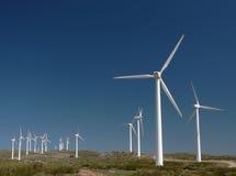 Exploração agrícola de vento em Spain 1 Imagem de Stock Royalty Free