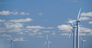 Exploração agrícola de vento w2 Foto de Stock