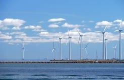 Exploração agrícola de vento w5 imagens de stock royalty free