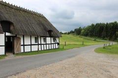 Exploração agrícola Dinamarca Foto de Stock