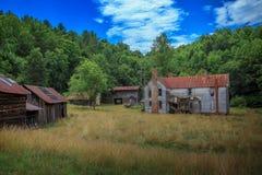 Exploração agrícola do Beaver Creek Imagem de Stock Royalty Free