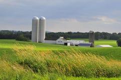 Exploração agrícola do condado de Lancaster Foto de Stock Royalty Free