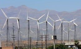 Exploração agrícola do moinho de vento Imagem de Stock Royalty Free