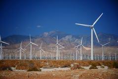 Exploração agrícola do moinho de vento Imagem de Stock