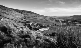 Exploração agrícola do monte, Rhondda Cynon Taff Fotografia de Stock
