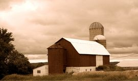 Exploração agrícola do país Fotos de Stock