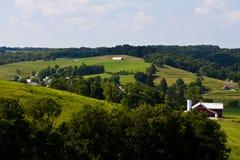 Exploração agrícola do país Fotografia de Stock