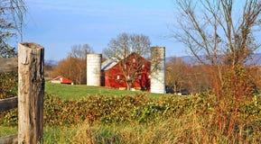 Exploração agrícola do país foto de stock