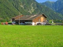 Exploração agrícola em Áustria Foto de Stock Royalty Free