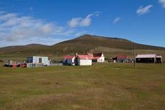 Exploração agrícola em Falkland Islands Fotos de Stock