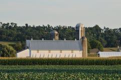 Exploração agrícola em Lancaster cênico Pensilvânia fotografia de stock