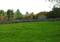 Exploração agrícola em Nova Inglaterra do norte Imagens de Stock