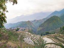 Exploração agrícola em Sapa imagens de stock