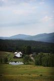 Exploração agrícola em Vermont Fotografia de Stock