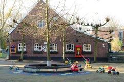 Exploração agrícola holandesa das crianças Imagens de Stock