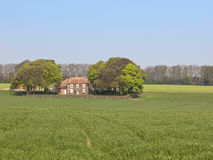 Exploração agrícola inglesa do país Fotografia de Stock