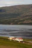 Exploração agrícola islandêsa imagens de stock royalty free