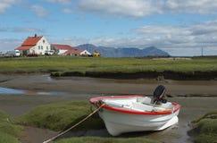 Exploração agrícola islandêsa Imagens de Stock