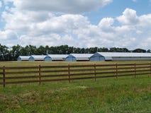 Exploração agrícola ou tipo industrial edifícios Foto de Stock