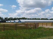 Exploração agrícola ou tipo industrial edifícios Imagem de Stock